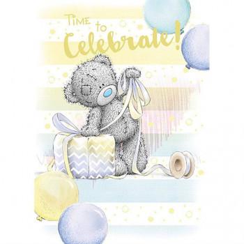 Rođendanska Čestitka OPEN BDAY BEAR TYING GIFT