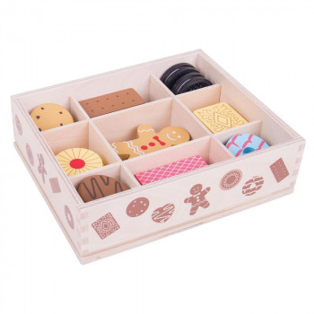 Drvena igračka BOX OF BISCUITS