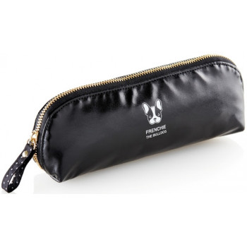 Pernica za Olovke ROUNDED HOLDALL FRENCHIE GOLDEN BLACK MR