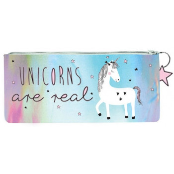 Školska Pernica PENCIL CASE HOLOGRAPHIC UNICORN