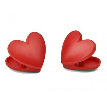 Set kuhinjskih štipaljki HEART