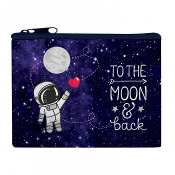 Novčanik za sitan novac FUNKY COLLECTION To The Moon & Back