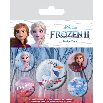 Set Bedževa FROZEN 2 BADGEPACK