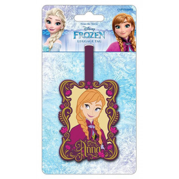 FROZEN ANNA LUGGAGE TAG