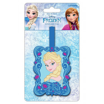 FROZEN ELSA LUGGAGE TAG