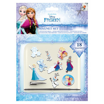 DISNEY FROZEN SISTERS MAGNET SET