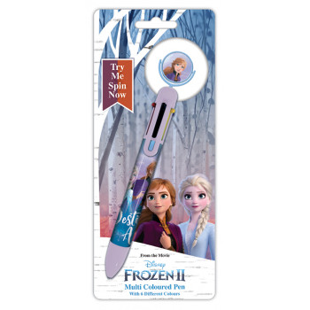FROZEN 2 DESTINY AWAITS MULTI COLOUR PEN CDU 8