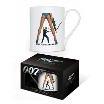 Šolja JAMES BOND FOR YOUR EYES ONLY BONE CHINA MUG