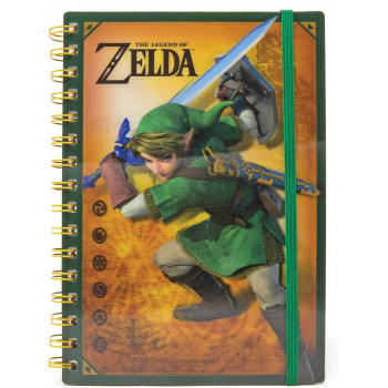 Notes A5 THE LEGEND OF ZELDA 3D