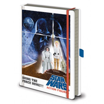 Notes Premium A5 STAR WARS A New Hope Figures