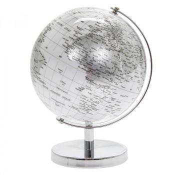 SILVER & WHITE Globus