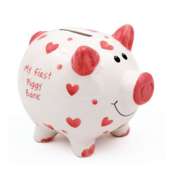 Kasica MY FIRST BANK Piggy, roze