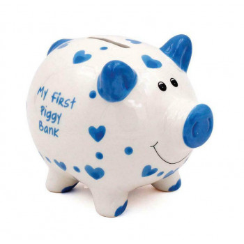 Kasica MY FIRST BANK Piggy, plava