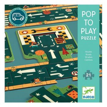 Puzzle za decu ROADS 21