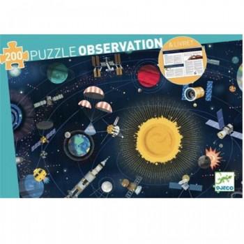 Puzzle za decu THE SPACE 200 + Brošura