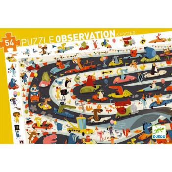 Puzzle za decu CAR RALLY 54
