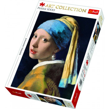 Puzzle TREFL Girl With A Pearl Earring 1000