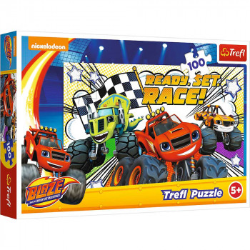Puzzle TREFL Blaze & The Monster Machine 100