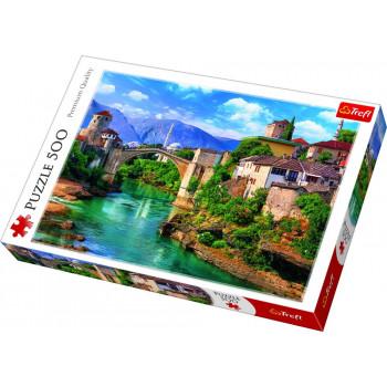 Puzzle TREFL Old Bridge in Mostar 500