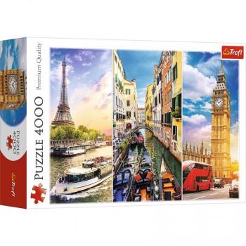 Puzzle TREFL Trip Around Europe 4000