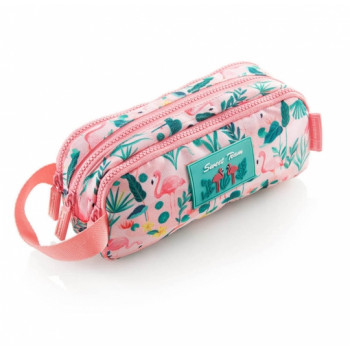 Školska Pernica TRIPLE HOLDALL POCKET FLAMINGO MR