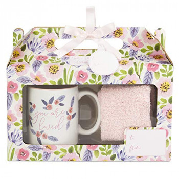 GIFT Set CERAMIC MUG AND SOCK SET