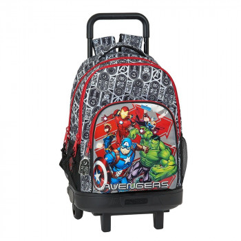 Školski Ranac BACKPACK BIG WITH WHEELS COMPACT REMOVABLE AVENGERS HEROES
