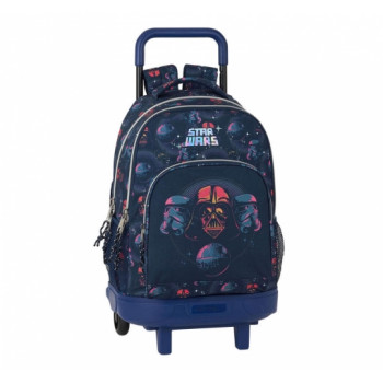 Školski Ranac BACKPACK BIG WITH WHEELS REMOVABLE STAR WARS DEATH STAR