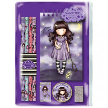 GORJUSS SPARKLE & BLOOM STATIONERY SET CATCH A FALLING STAR