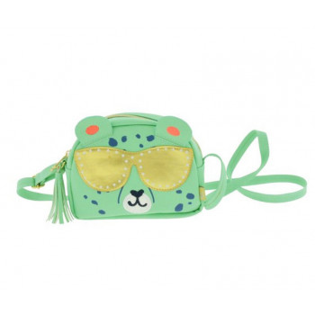 Zelena mini gepard torbica: PP LITTLE BAG CHEETAH
