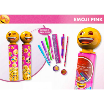 Školski set EMOJI NOVELTY STATIONERY TUBE