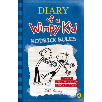 RODRICK RULES Diary of a Wimpy Kid book 2