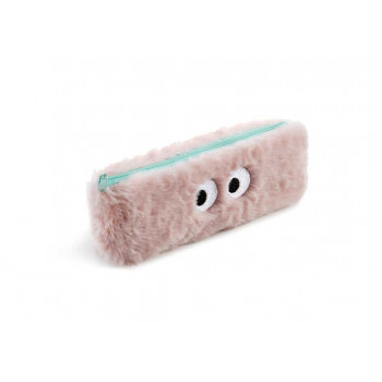 Futrola za olovke BIG EYES FLUFFY Pink