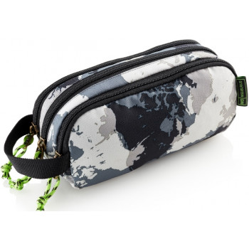 TRIPLE HOLDALL POCKET WORLD MAP MR