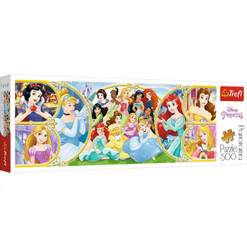 Puzzle DISNEY Return to the world of Princesses 500