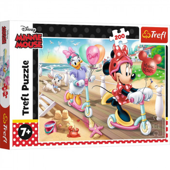 Puzzle DISNEY Minnie on the beach 200