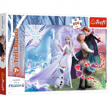 Puzzle FROZEN 2 Magic sister's world 200
