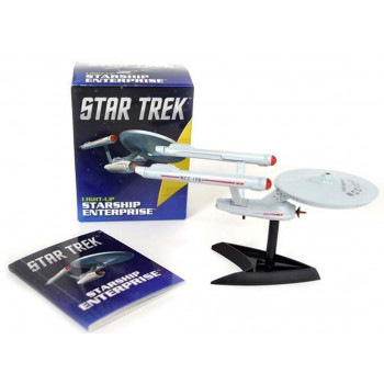 STAR TREK LIGHT UP STARSHIP ENTERPRISE