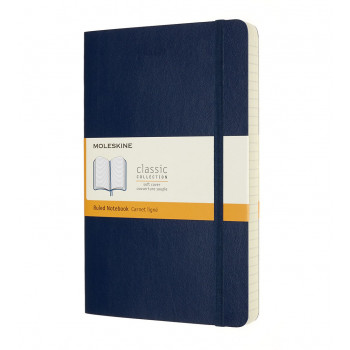 Notes A5 MOLESKINE Classic Soft, plavi