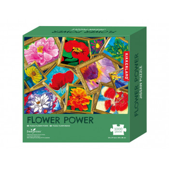 Puzzle FLOWER POWER 1000