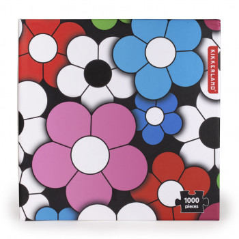 Puzzle HAPPY FLOWERS 1000
