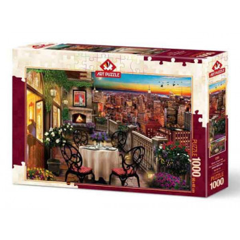 Puzzle DINNER AT NEW YORK 1000 kom