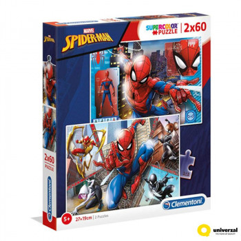 Puzzle SPIDERMAN 2 x 60 kom
