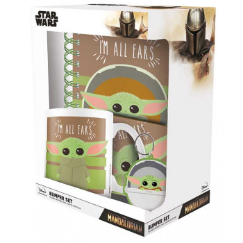 Poklon set Star Wars THE MANDALORIAN I'm all ears