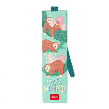 BOOKMARK - TIRED SLOTH