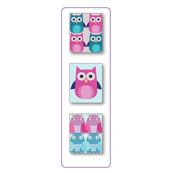 INT MINI PAGE MARKER SETS OWLS