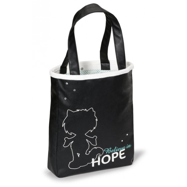 HANDBAG SHOPPER HOPE 29X37X7CM