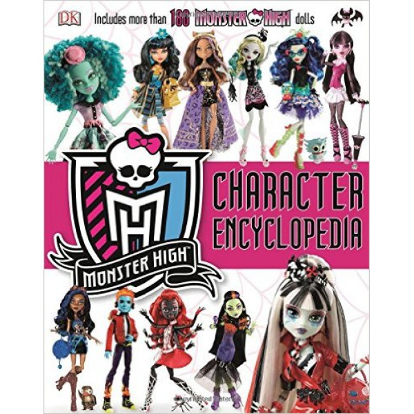 MONSTER HIGH CHARACTER ENCYCLOPEDIA