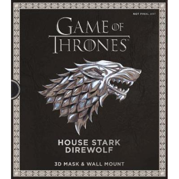 GAME OF THRONES: HOUSE STARK DIREWOLF