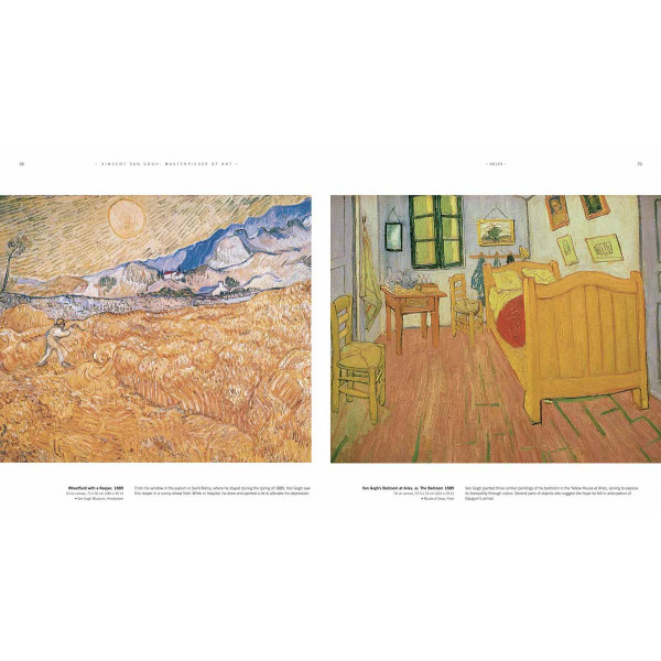 VINCENT VAN GOGH MASTERPIECES OF ART